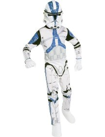 Costum soldat Star Wars Clone Trooper copii