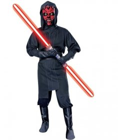 Costum Star Wars Darth Maul adolescent