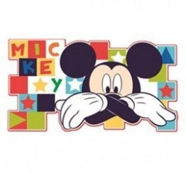 Decoratiune de perete Mickey Mouse