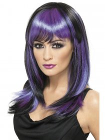 Peruca mov Purple Glamour