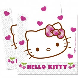 Servetele-party-Hello-Kitty-Hearts
