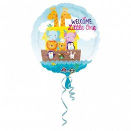 balon-folie-45-cm-animalute-welcome-little-one