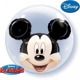Balon double bubble mickey mouse 61 cm