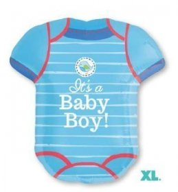 Balon folie figurina body its a baby boy