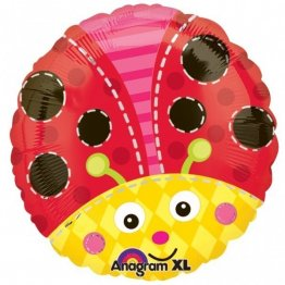 Balon folie 45 cm buburuza lady bug
