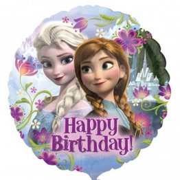 Balon Disney Frozen Happy Birthday