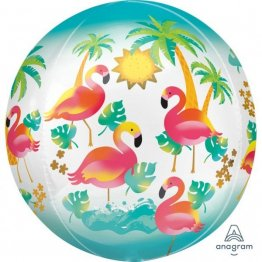 Balon-folie-Flamingo-Paradis