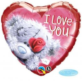 Balon-Folie-45-cm-Inima-Teddy-Bear-I-love-You