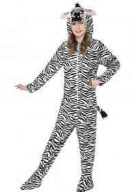 Costum carnaval animale - Zebra