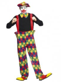 costum-clown-adult-cu-bretele
