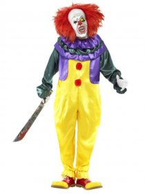 costum-clown-horror-clasic-cu-masca-adulti