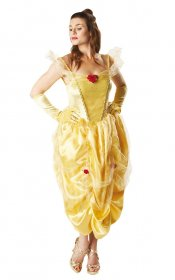 Costum-Disney-printesa-Belle-adult-fabricademagie