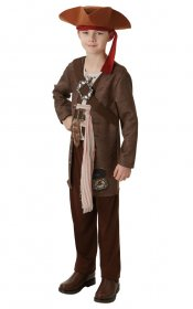 Costum pirat Disney Jack Sparrow copii