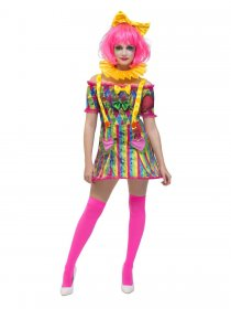 costum-halloween-clown-fever-clownita