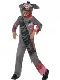 Costum Halloween copii iepure strivit