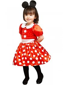 costum Minnie Mouse bebelusa