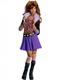 Costum Monster High copii Clawdeen