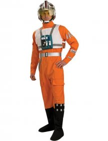 Costum Pilot Star Wars Nava X-Wing adulti