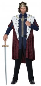 Costum-rege-Royalty-King-de-epoca-medieval