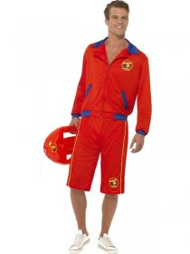Costum salvamar Baywatch barbati