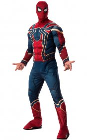 Costum-Spider-Man-cu-muschi-Iron-Spider-adult
