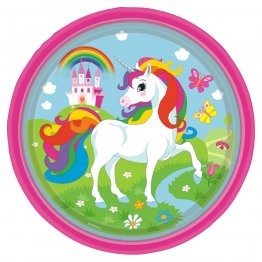 set-8-farfurii-party-unicorn-23-cm