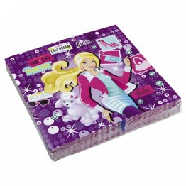 set-20-servetele-de-masa-petrecere-copii-barbie-fashion