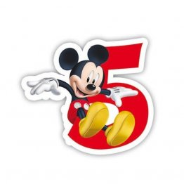 Lumanare tort Mickey Mouse 5 Ani