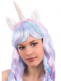 Cordeluta unicorn cu urechi unicorn magic cu corn