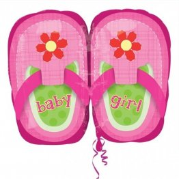 balon-folie-45-cm-baby-girl-pink-shoes