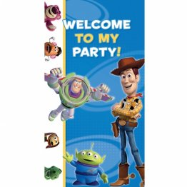 Poster decorativ petrecere Toy Story