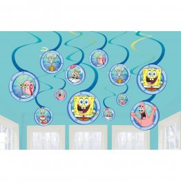 set-12-serpentine-decorative-petrecere-spongebob