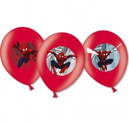 Set 6 baloane party Spiderman