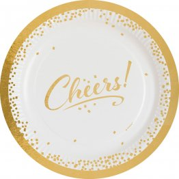 set-8-farfurii-party-cheers-23-cm