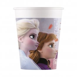 Set 8 pahare party din carton Frozen 2