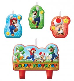 set-lumanari-tort-4-figurine-super-mario-happy-birthday