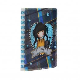 Agenda speciala Gorjuss Tartan -Ruby Yellow