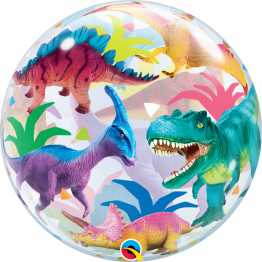 Balon Bubble Dinozauri 56cm