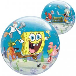 "Balon Bubble 22""/56cm, SpongeBob & Friends"