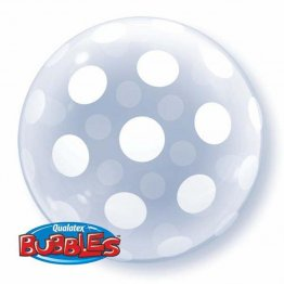 Balon Bubbles Polka Dots