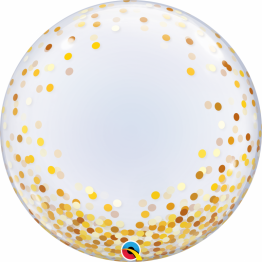 balon-deco-bubble-confetti-aurii-61-cm