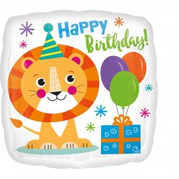 balon-folie-45-cm-happy-birthday-lionBalon folie 45 cm Happy Birthday Lion