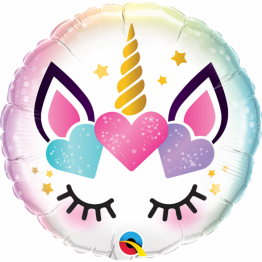 Balon Folie Unicorn Eyelashes