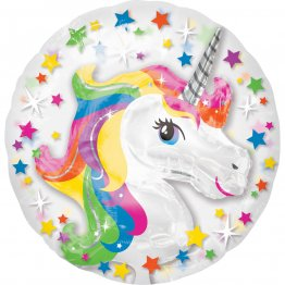Balon folie 60 cm Unicorn Rainbow