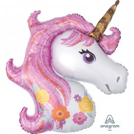 Balon folie figurina Magic Unicorn