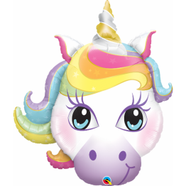 Balon Folie Figurina Unicorn - 96 cm