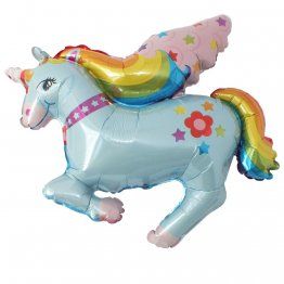 Balon folie figurina Unicorn
