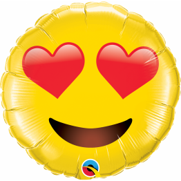 Balon Folie Jumbo Smiley Face - 71 cm