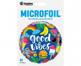 Balon folie figurina Good Vibes 46 cm