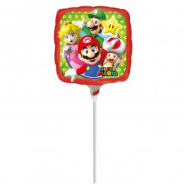 Balon mini folie Mario Bros